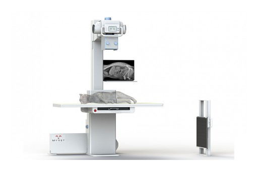 MyVet Imaging Elevating X-Ray Table
